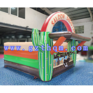 Outdoor Beach Inflatable Shooting Game/0.55m PVC Inflatable Sport Games pictures & photos