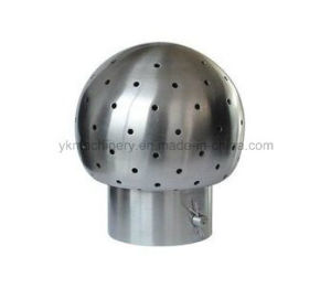 Sanitary Stainless Steel Bolted Fixed Cleaning Ball