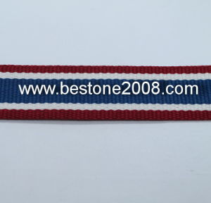 High Quality Polyester Strip Webbing Garment Accessories 1603-57b pictures & photos