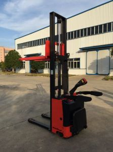 Electric Hydraulic Pallet Stacker with Battery pictures & photos