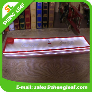 Embossed 3D Custom LED Bar Mat Soft PVC Bar Mat Bar Rubber Mat pictures & photos