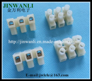 Wire 3 Position Barrier Terminal Strip Block 450A 30A 22-10AWG pictures & photos