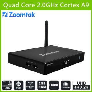 Best Quad Core Android 4.4 OS Smart TV Box M8 pictures & photos