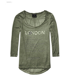 Women′s 3/4 Sleeve T-Shirt pictures & photos