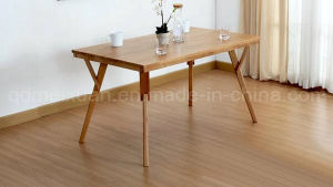 Solid Wooden Dining Table Living Room Furniture (M-X2899) pictures & photos