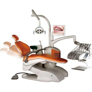 CE and ISO Approved Electric Dental Unit Chair Om-DC4000 pictures & photos