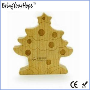 Christmas Tree Shape USB Flash Disk (XH-USB-025) pictures & photos