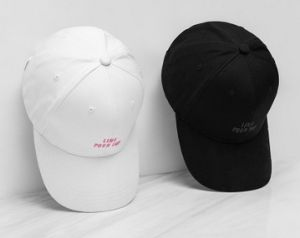 Simplified English Embroidery Baseball Cap pictures & photos