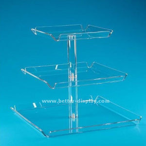 Supermarket Store Style Acrylic Cake Food Display Box (BTR-K4031) pictures & photos