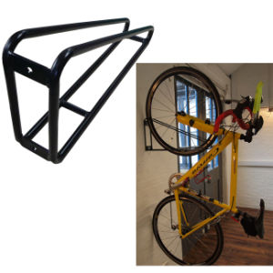 Wall Mounted Single Vertical Hanging Bike Rack pictures & photos