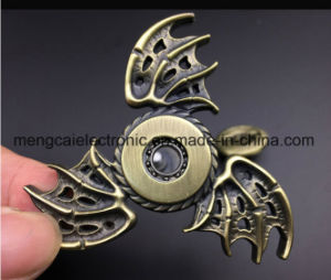 2017 Zinc Metal High Quality Devil Wing EDC Spinner Fidget, Gear Hand Spinner for Autism and Adhd Anti Stress, Spinning Toy pictures & photos