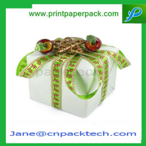Custom Cardboard Packing Box Ribbon Gift Packaging Paper Gift Box pictures & photos