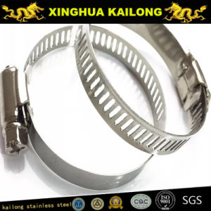 High Quality 304 Stainless Steel Hose Clamps pictures & photos