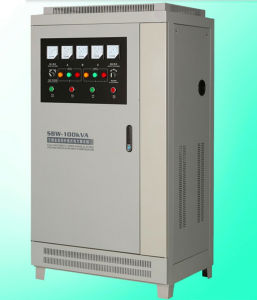 SBW 10k-1600k Dbw Avrs Three Phase Voltage Stabilizer Regulator Servo Motor Control AC Automatic Compensating Voltage Regulation pictures & photos