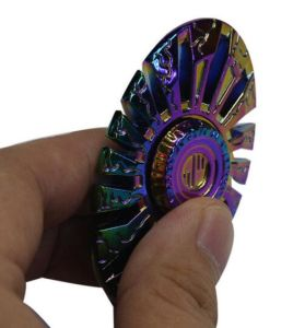 New Rainbow Style Overbearing Crabs Hand Spinner Fidget Toy for Children and Adults pictures & photos