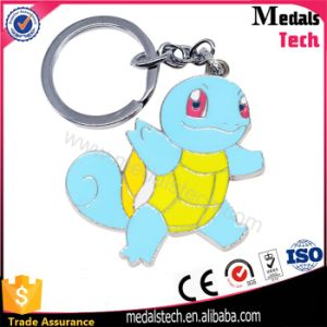Die Casting Tortoise Pokemon Game Metal Keychain pictures & photos