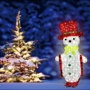 Christmas Holiday Decoration LED Motif Light Snowman pictures & photos
