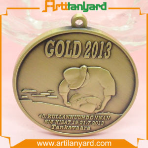 High Quality Design Logo Metal Medal pictures & photos