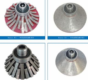 Diamond Router Bits for Ceramic-Profiling Wheels pictures & photos