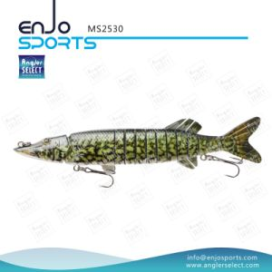 Multi Jointed Fishing Life-Like Lure Deep Diving Hard Lure Fishing Tackle (MS2530) pictures & photos