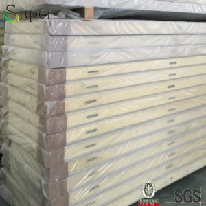 Polyurethane PU Sandwich Panel for Cold Room with Camlock System pictures & photos