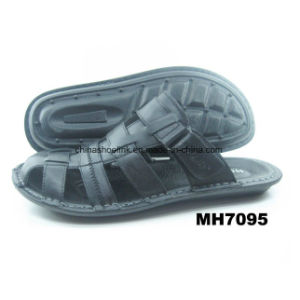 Fashion Leather Gents Sandals Beach Shoes Sport Slipper pictures & photos