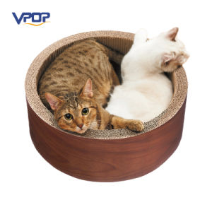 Cat Furniture Cat Scratch Round Box Circular Cat Scratcher House pictures & photos