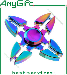 Colourful Hand Spinner/Innovative Anti Stress Toy/Fingertip Gyro for Kids & Adults 002 pictures & photos