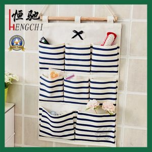 Wall Door Closet Blue Strips Hanging Storage Bag Home Organizer pictures & photos