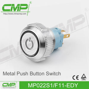 22mm Waterproof Push Button Switch (MP22S/F11-BK) pictures & photos