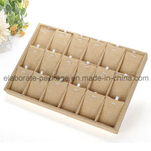 Beautiful Handmade Velet Jewelry Tray Customized Display Tray pictures & photos