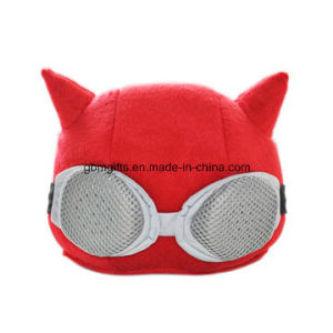 Personlized Portable Fabric High-Quality Roping Plush Stuffed Wolf Zero Purse pictures & photos