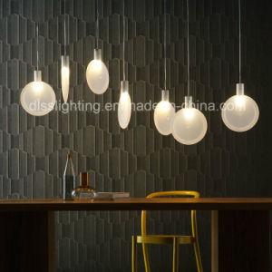 2017 Newest Creative Design Glass LED Ping Pong Bat Shape Pendant Lamp pictures & photos