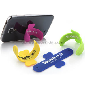 Promotional 3m Sticky Silicone Mobile Card Holder pictures & photos