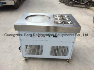 480mm Big Pan Multi Flavor Ice Cream Machine with Wheels pictures & photos