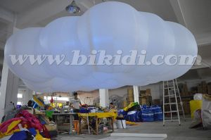 Stage Decoration Inflatable Cloud Balloon with LED Light C2016 pictures & photos