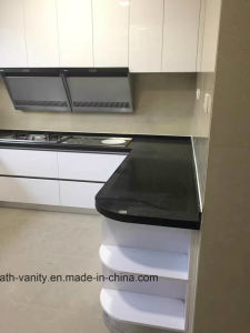 Customized E1 MDF High Gloss Lacquer Kitchen Carbinet pictures & photos