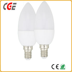 2017 Ce RoHS Approval 3W 5W 7W E14 Candle LED Lamp pictures & photos
