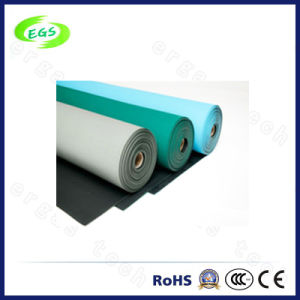 PVC Rubber Anti-Static Table/ESD Floor Mat (1.2*10M) pictures & photos