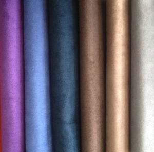 Micro Suede Fabric, Embroidered Suede Fabric for Curtain, Suede Fabric for Sofa pictures & photos