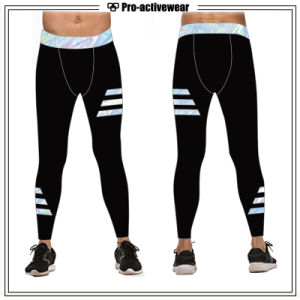 Sports Wear Wholesale OEM Factory Customized Popular Lycra Compression Pants pictures & photos
