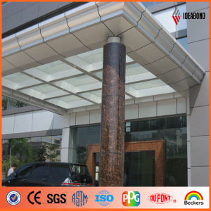 Door Pillars Perlato Svevo Stone Look Aluminum Composite Material Acm (AE-506) pictures & photos