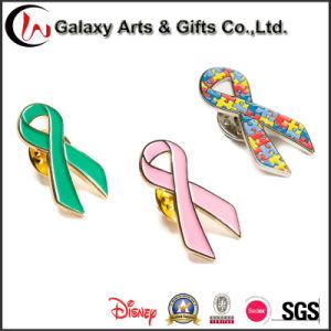 1 Inch Ribbon Shape Enamel Logo Metal Lapel Pin pictures & photos
