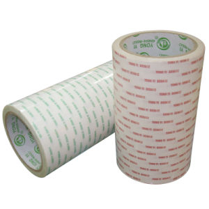 Double-Side Tissue Tape with Acrylic Asolvent pictures & photos