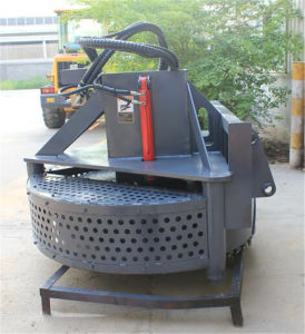 Loader Attachment Manhole Cutter Manhole Cover Milling Machine pictures & photos