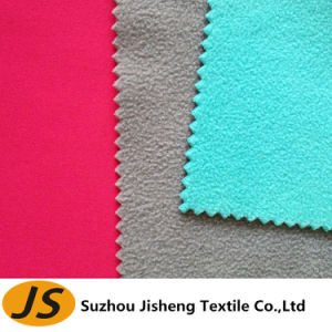 100d Polyester Spandex Fabric Bonded TPU Film and Polar Fleece pictures & photos
