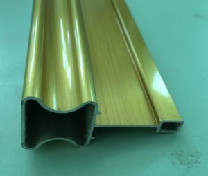 Sliver Anodized Aluminum/Aluminium Profile for Industry with Accessories pictures & photos