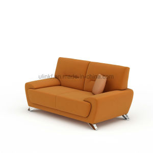 Leather Sofa Living Room Sofa Wooden Frame Home Sofa (UL-NS077) pictures & photos