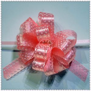 Professional Fashion Design POM-POM Pull Bow for Packaging Decoration pictures & photos