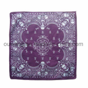 Multifunctional Paisley Square Cotton Bandana as Hair Accessory pictures & photos